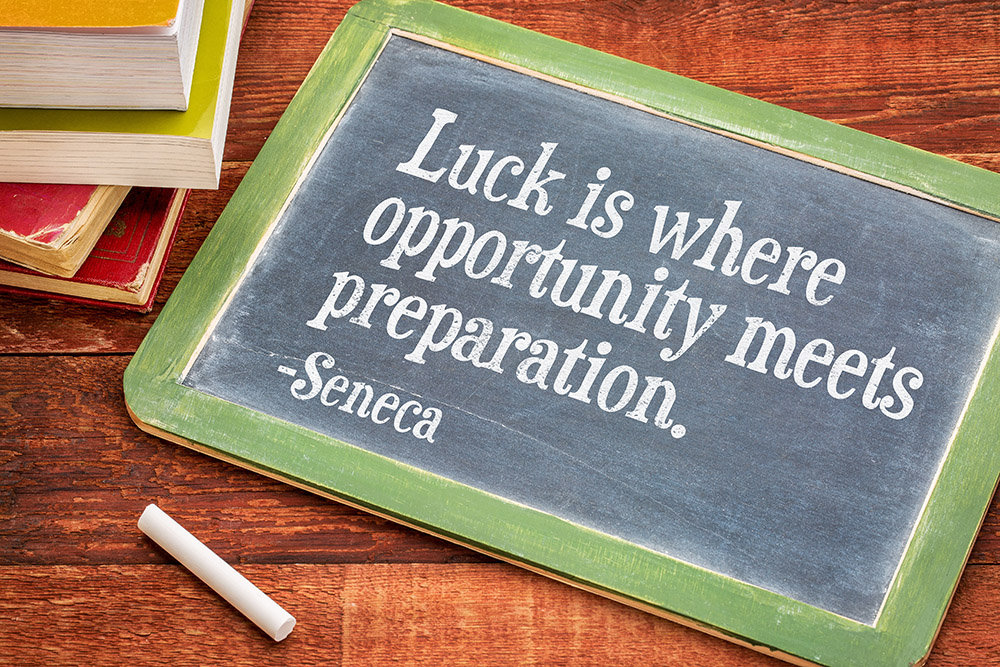 The Competitive Edge: To Understand Luck is to Eliminate Stress